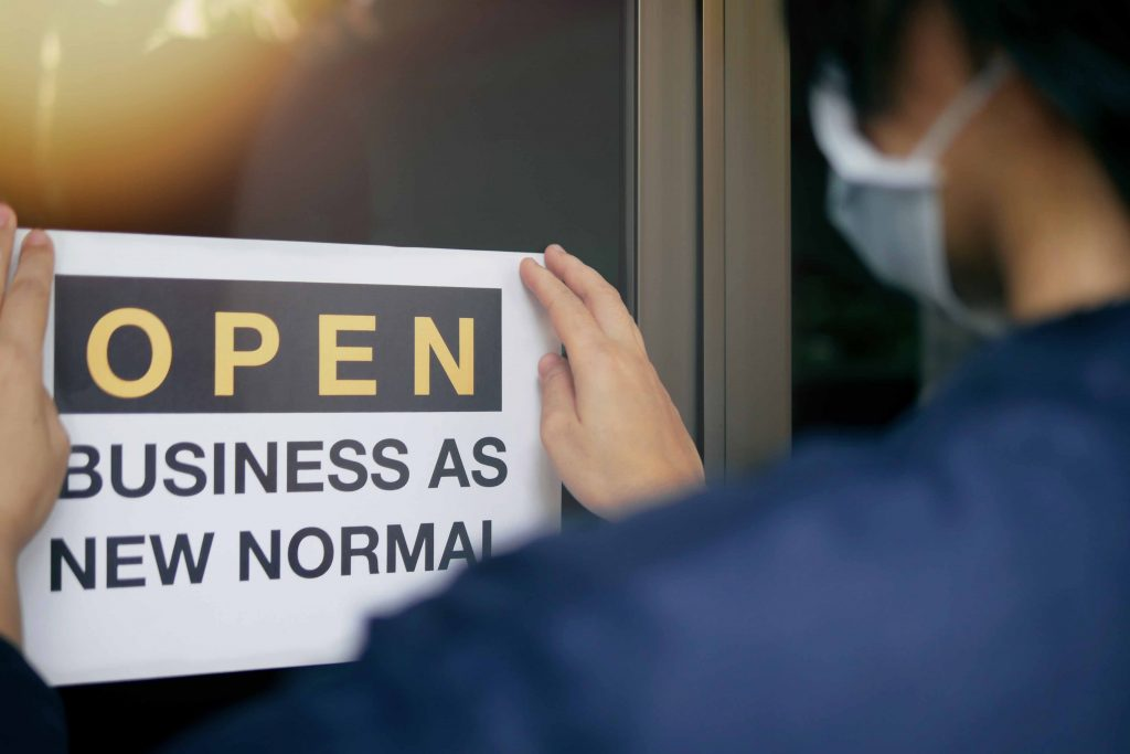 Reopen business tips andali